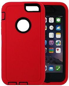 """myLife Rugged Shock Absorbing {Built In Screen Protector} Case for iPhone 6 (6G) 6th Generation Phone by Apple, 4.7"""" Screen Version {Tricycle Red and Black """"Durable Vivid Colors"""" Neo Hybrid Three Piece with Layered Flex Gel SECURE-Fit Armor} myLife Brand Products http://www.amazon.com/dp/B00QJAXLSI/ref=cm_sw_r_pi_dp_-dIHub0H534BJ"""