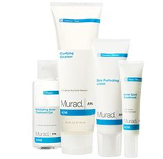 Get clear, stay clear. Murad products are scientifically proven to address all of the factors that cause breakouts. Acne Complex® makes skin healthy and clears acne through the science of cellular water™.