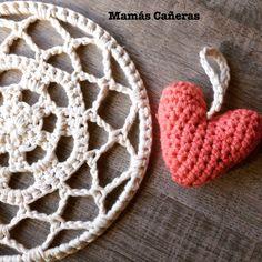 Atrapasueños Crochet Earrings, Tapestry, Cotton, Jewelry, Ideas, Weaving, The Creation, Lets Go, Crocheting