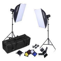 Studio Light Stand Carrying Bag Umbrella Large Heavy Duty Paded Lighting Set Shoulder Bag Case for Tripods Black Reflectors Backdrops Softbox and Flash Strobe Lighting Kit