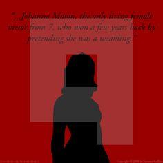 - Johanna Mason #TheHungerGames #CatchingFire #JohannaMason