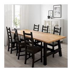SKOGSTA / KAUSTBY Table and 6 chairs