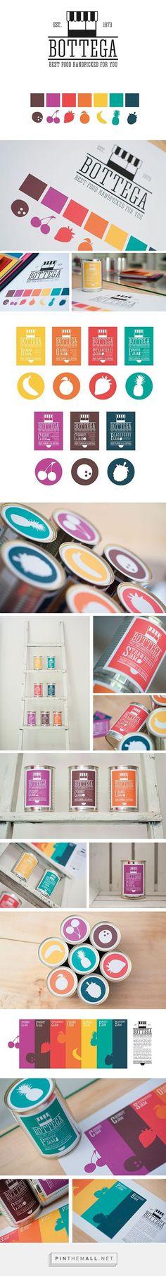 Bottega Branding on Behance   Fivestar Branding – Design and Branding Agency & Inspiration Gallery