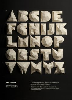 ApetitPois*design │ Design and Style with a French Attitude: Folding paper typography
