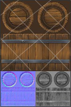 wooden barrel 3d model - Low Poly Wooden Barrel... by Jronn