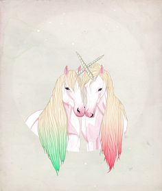 FAIIINT Unicorn Illustration