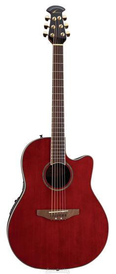 Ovation Celebrity.  This is my main guitar at the moment.