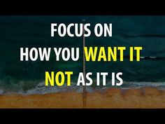 Abraham Hicks - You've Got To See It THAT WAY Even When It Isn't - YouTube