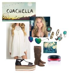 """""""Coachella Love"""" by born2dress ❤ liked on Polyvore featuring H&M"""