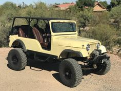 Jeep Cj6, Jeep Willys, Roll Cage, Transfer Case, Aluminum Radiator, Jeep Stuff, New Tyres, Fuel Injection, Automatic Transmission