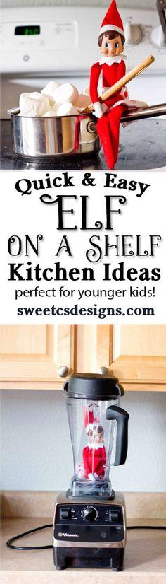 More Awesome Elf on the Shelf Ideas (35 Pics) Winter Christmas, All Things Christmas, Christmas Holidays, Christmas Ideas, Christmas Kitchen, Merry Christmas, Kitchen Ideas, Room Kitchen, Awesome Elf On The Shelf Ideas