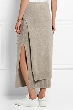 Joseph   Cashmere midi skirt   NET-A-PORTER.COM