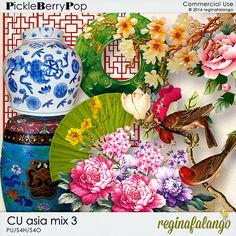 CU ASIA MIX 3 By Regina Falango