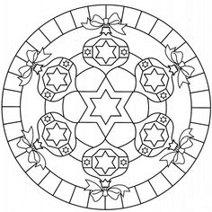 coloring page Mandala Christmas on Kids-n-Fun. Coloring pages of Mandala Christmas on Kids-n-Fun. More than coloring pages. At Kids-n-Fun you will always find the nicest coloring pages first! Cool Coloring Pages, Mandala Coloring Pages, Christmas Coloring Pages, Free Printable Coloring Pages, Adult Coloring Pages, Coloring Books, Christmas Colors, Christmas Crafts, Christmas Time
