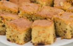Svatomartinské sladkosti: Mrkvový koláč s rozinkami   Ahaprozeny.cz Coco, Cornbread, Banana Bread, Ethnic Recipes, Desserts, Fit, Internet, Natural, Macaroni Cheese Recipes