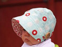 PDF bonnet pattern from Christy at Little Betty  http://www.etsy.com/shop/littlebettydesigns