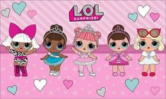Lol Surprise Wallpapers HD New KIDS BEDROOM Lol dolls