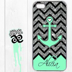 Anchor Phone Case Anchor iPhone Case iphone 4s by AttitudeGraphics, $15.95...WITH MY NAME!!!!