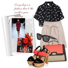 Every day is a fashion show & the world is your runway, created by nicolesynth on Polyvore