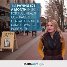 After checking out her options on HealthCare.gov, Molly found a quality plan that she could afford. Read her story: http://go.usa.gov/Wezh