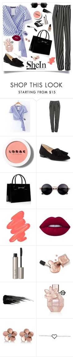 """Fashion❤"" by bodeadenisamaria ❤ liked on Polyvore featuring Glamorous, LORAC, Jones New York, Obsessive Compulsive Cosmetics, Garance Doré, Lime Crime, Ilia, Urban Decay, Viktor & Rolf and Allurez"