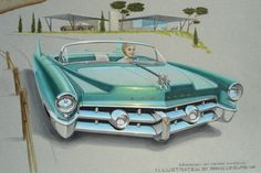 Pictures of 50s Cars | 50's Cadillac Concept Car