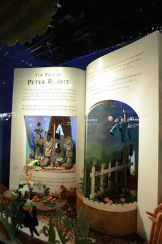 WORK: The Magic of Beatrix Potter in Fenwick's windows this Christmas – Creative Review Classroom Art Projects, Creative Review, New Museum, Book Sculpture, Up Book, 3d Painting, Expo, Display Design, Beatrix Potter