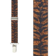 c5357ed6c25 Y-Back Animal Print Suspenders - 1 Inch Wide. Suspender StoreTiger  StripesTiger Print42 ...