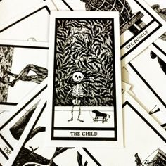 Love these Edward Gorey 'The Fantod Pack' tarot cards found at www.paper-source.com (Photo by Me)