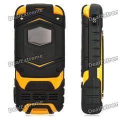 "Razor Flip Phone   LV599 GSM Flip Phone w/ 2.0"" Screen, Quad-Band, Dual-SIM and FM ..."