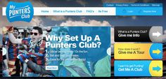 """My Punters Club aim to provide a fun way for a group of people to save money towards a common goal by contributing money, with each person taking a turn in gambling some or all of that contribution. Each club can decide the amount and regularity of the money contributed, as well as the amount and frequency of the money gambled.    """"Winnings"""" and """"Savings"""" can accumulate until an organised date when the final amount is divided between the members of the Club"""