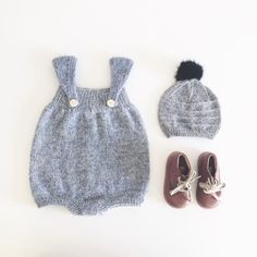 Puffy romper - Nordisk Strik - Woolspire