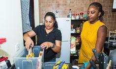 Shelina Jokhiya of UAE-based DeCluttr Me helps Melanie Smith of Time Out Dubai and Abu Dhabi