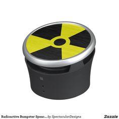 Radioactive Bumpster Speacker Bluetooth Speaker
