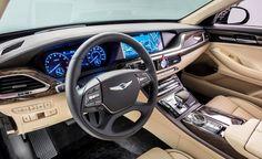 2017 Genesis G90 3.3Ttwin-turbocharged and intercooled DOHC 24-valve 3.3-liter V-6배기량 :3,342cc최대 출력 :365hp최대 토크 : 52.0Kg.m8단 자동변속기구동 방식 :front-engine, rear-/4-wheel-driveZero to 60 mph (0-97