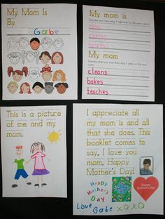 Mothers Day Easy Reader booklet | Classroom Freebies