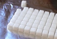 DIY Sugar Cubes (but these are sugar free!)