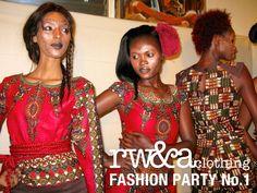 Models in RWANDA CLOTHING FASHION SHOW 2014