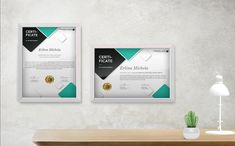 Erlina - Certificate Template