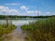 At White Lake near Blairstown, Warren County, NJ