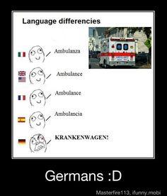 Deutsch! Bahahahahaa
