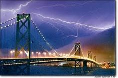 thunder and lightening in SF