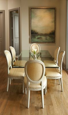 simple and elegant dining room