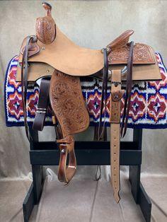 Barrel Saddle, Western Tack, Wooden Tree, Barrel Racing, Horse Stuff, Horse Tack, Saddles, Chile, Horses