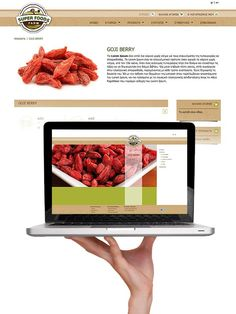 ThinkBAG engaged the design of the logo of the client, the E-Shop and its products packaging of Super Foods Farm. The project is under development. Global Village, Super Foods, Lorem Ipsum, Berries, Packaging, Design Inspiration, Branding, Logo, Shop