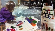 Father's Day DIY BBQ Apron — Itsy Bitsy Haligonians