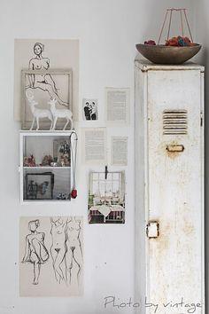 vintage moodboard from Johanna vintage