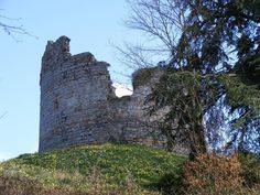 Remains of the Castle - Hawarden Medieval Castle, Wales
