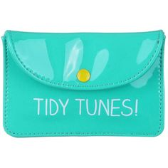 Tidy Tunes Earphone Case Tired of fishing your earphones out your pocket and finding them in a tangle? With this earphone case you can keep them in one place, and tangle free! Travel Accessories, Fashion Accessories, Earphone Case, Wild Wolf, Wash Bags, Make You Smile, Some Fun, Sunglasses Case, Sewing Patterns