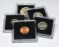 Hobby Coin Collecting Products - 25 Assorted Coin Snap Holders 5 Different Sizes *** Read more at the image link.